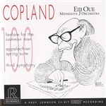 COPLAND, A.: Fanfare for the Common Man / Appalachian Spring / Symphony No. 3 (Minnesota Orchestra, Oue)