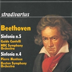 Beethoven: Symphonies Nos. 4 & 5 (Live)