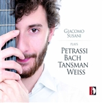 Petrassi, Bach, Tansman & Weiss: Works for Guitar