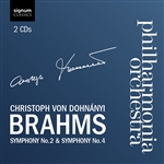Brahms: Symphonies 2 and 4