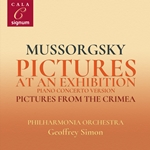 Mussorgsky; Pictures At An Exhibition