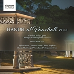 Handel at Vauxhall, Volume 1