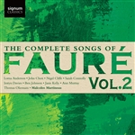 The Complete Songs of Fauré, Vol.2