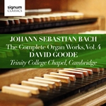 J S Bach - The Complete Organ Works, Vol.4