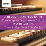 J S Bach: The Complete Organ Works, Vol.10