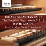 J S Bach - The Complete Organ Works, Vol.12