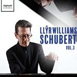 Llyr Williams - Schubert, Vol.3