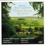 Mackenzie/ Bridge/Howells/Stanford/Jacob/Walton: British Piano Quartets