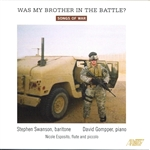 Songs of War Performed by Stephen Swanson
