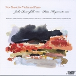 Newly commissioned works for violin/piano by American composers