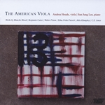 Music for viola by American composers.