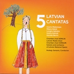 Cantatas by five Latvian composers