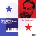 Solo piano music by Panamanian-American composer Roque Cordero