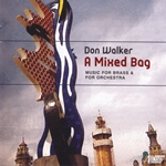 Music for brass and orchestra by American composer Don Walker