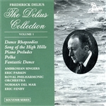 The Delius Collection - Vol 1