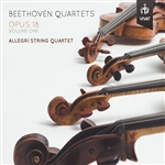 Beethoven: String Quartets, Op. 18, Vol. 1