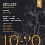 Decades: A Century of Song, Vol. 1 (1810-1820)