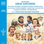 Angus, D.: Great Explorers of the World (Unabridged)