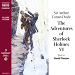 Doyle, A.C.: Adventures of Sherlock Holmes (The), Vol. 6 (Unabridged)