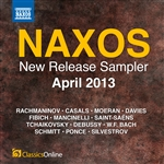 Naxos April 2013 New Release Sampler
