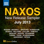 Naxos July 2013 New Release Sampler