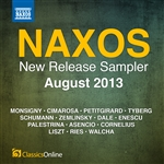Naxos August 2013 New Release Sampler
