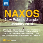 Naxos January 2014 New Release Sampler