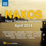 Naxos April 2014 New Release sampler