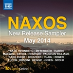 Naxos May 2014 New Release sampler