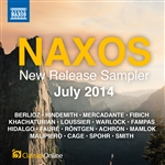 Naxos July 2014 New Release Sampler