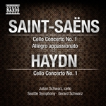 SAINT-SAENS, C.: Cello Concerto No. 1 /  Allegro appassionato / HAYDN, J.: Cello Concerto No. 1 (J. Schwarz, Seattle Symphony, G. Schwarz)