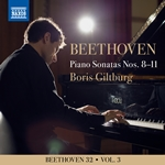 Beethoven 32, Vol. 3: Piano Sonatas Nos. 8-11