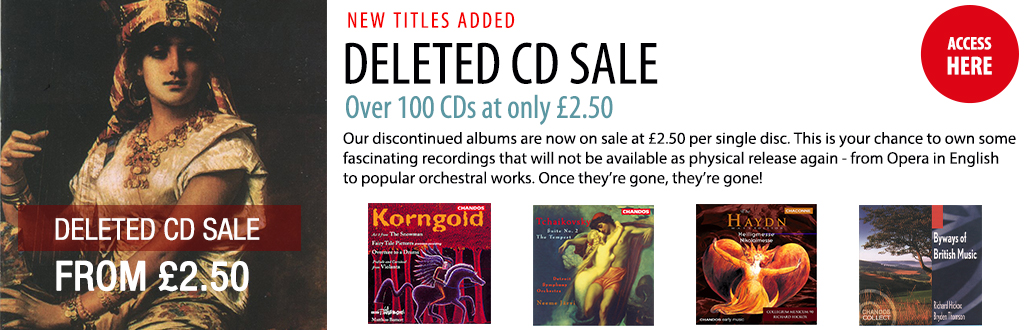 Chandos Records Classical Music CDs and MP3 Downloads OnLine